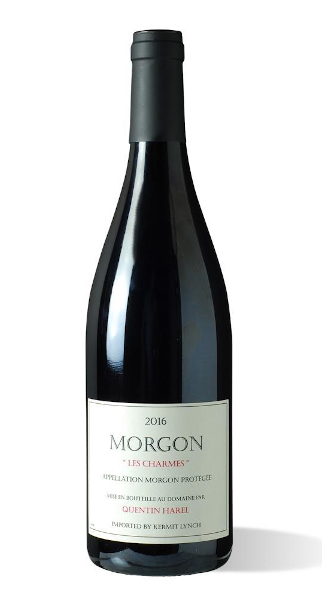 A product image for Quentin Harel Morgon Les Charmes