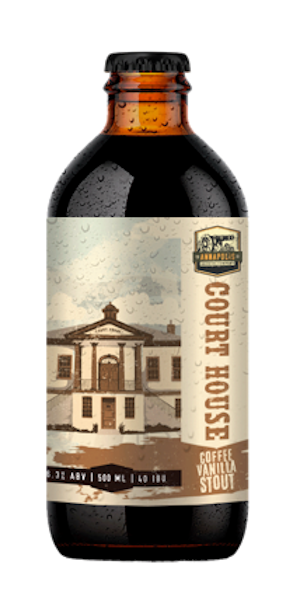 A product image for Annapolis Brewing Court House Coffee Vanilla Stout