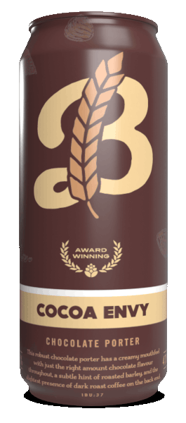 A product image for Breton Brewing Coco Envy Chocolate Porter