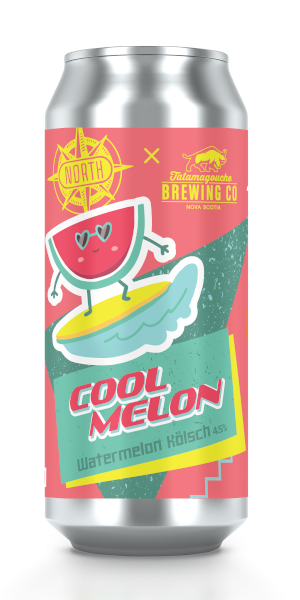 A product image for North Tata Watermelon Kolsch