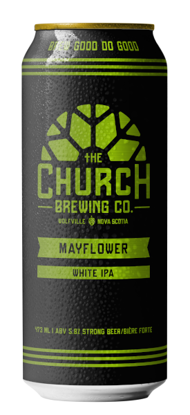 A product image for Church Mayflower White IPA