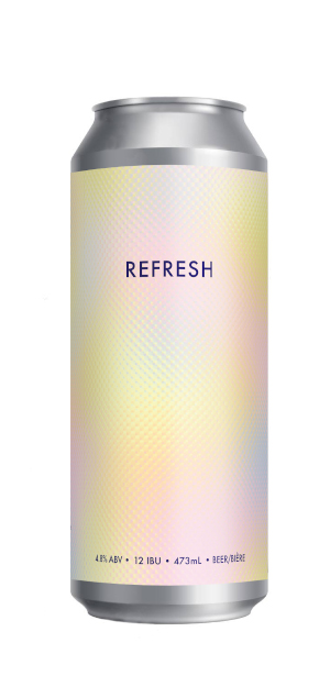 A product image for 2 Crows Refresh – Dry Hopped Lager