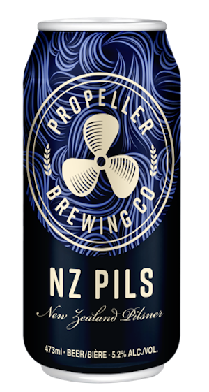 A product image for Propeller NZ Pils New Zealand Pilsner