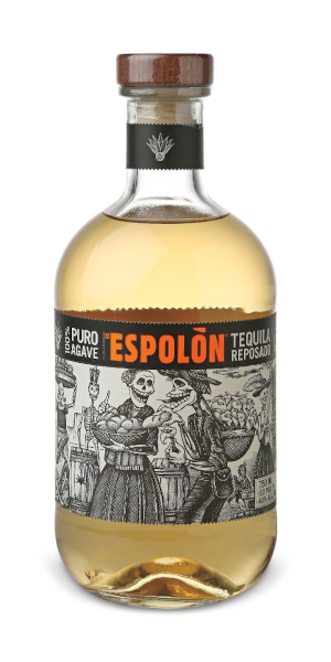 A product image for El Espolón Tequila Reposado