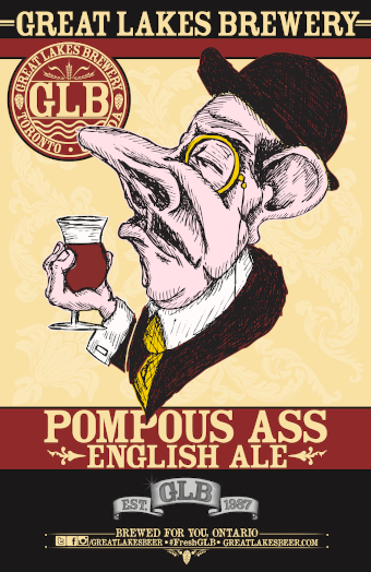 A product image for Great Lakes Pompous Ass