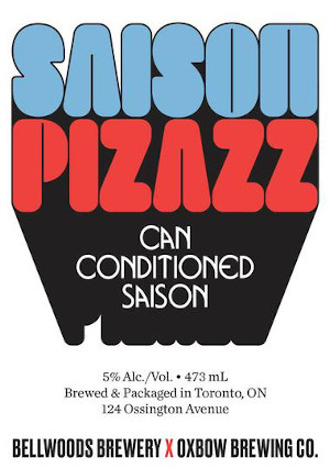 A product image for Bellwoods Saison Pizzazz
