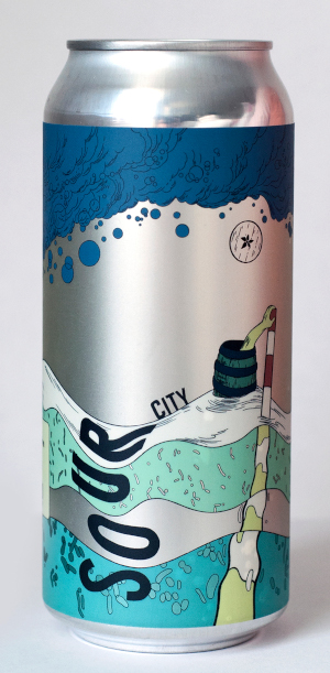 A product image for Sourwood Cider Sour City