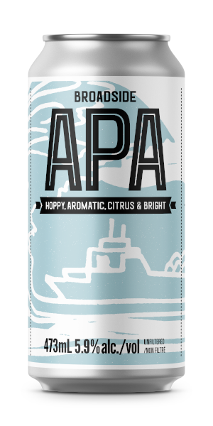 A product image for Copper Bottom Broadside APA
