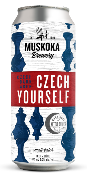 A product image for Muskoka Czech Yourself Dark Lager