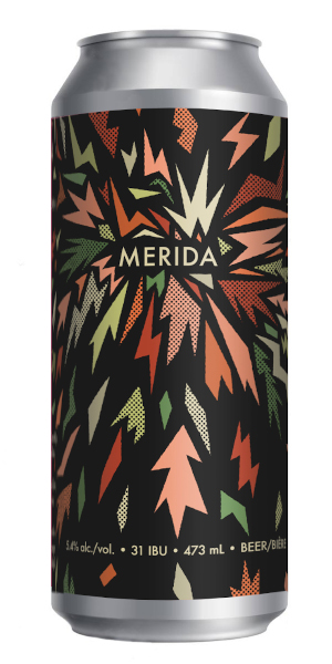A product image for 2 Crows Merida IPA