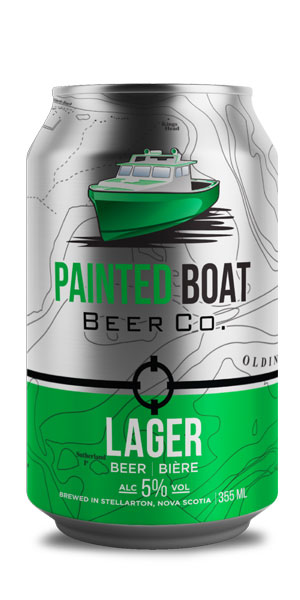 A product image for Painted Boat Beer Co Lager 6pk