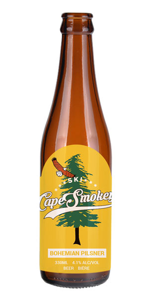 A product image for Big Spruce Cape Smokey Pilsner