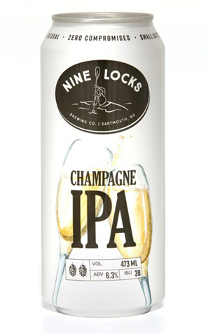 A product image for Nine Locks Champagne IPA Can