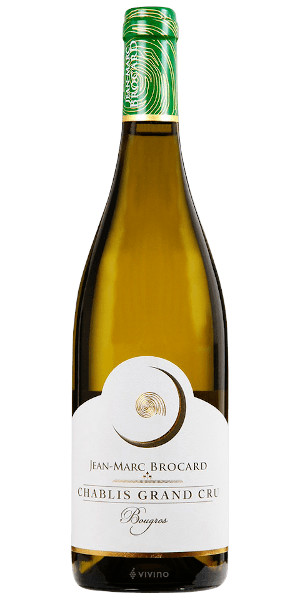 A product image for Brocard Chablis Grand Cru Bougros