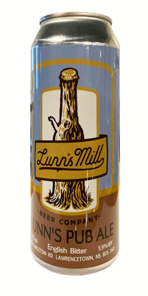 A product image for Lunn's Mill Pub Ale Can