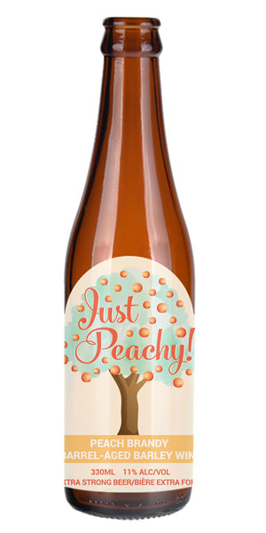 A product image for Big Spruce Just Peachy Barleywine