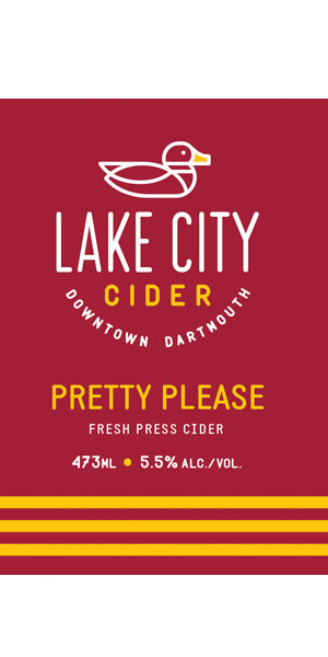 A product image for Lake City Pretty Please Cider
