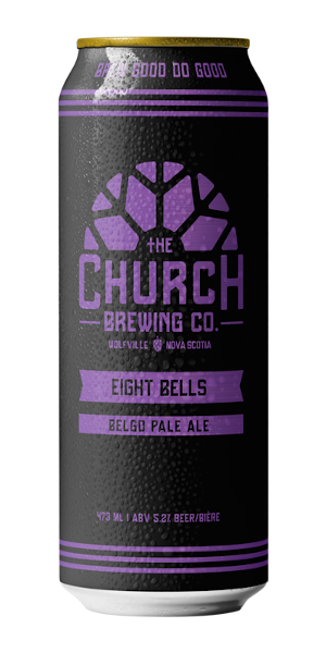 A product image for Church 8 Bells Belgo Pale Ale Can