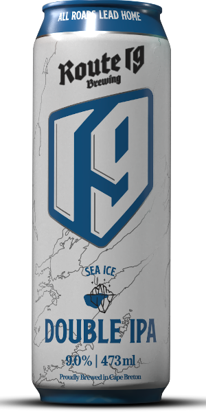 A product image for Route 19 Sea Ice DIPA Can