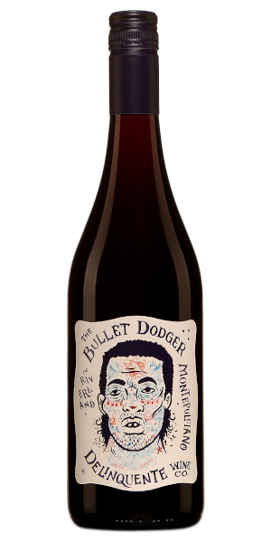 A product image for Delinquente The Bullet Dodger Montepulciano