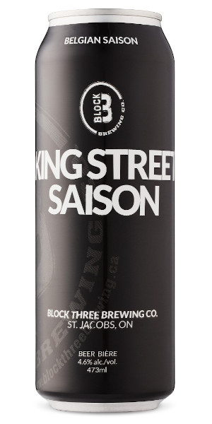 A product image for Block Three King Street Saison