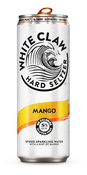 A product image for White Claw Mango