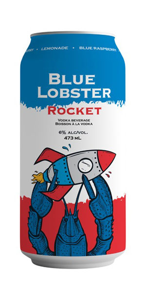 A product image for NS Spirit Co Blue Lobster Rocket Can