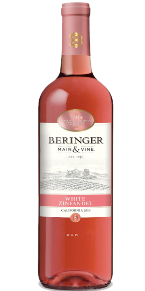 A product image for Beringer White Zinfandel