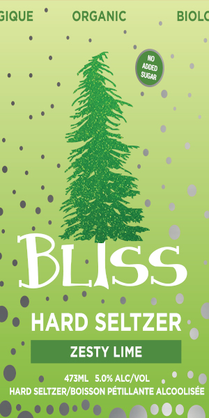A product image for Big Spruce Bliss Lime Seltzer
