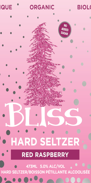 A product image for Big Spruce Bliss Raspberry Seltzer