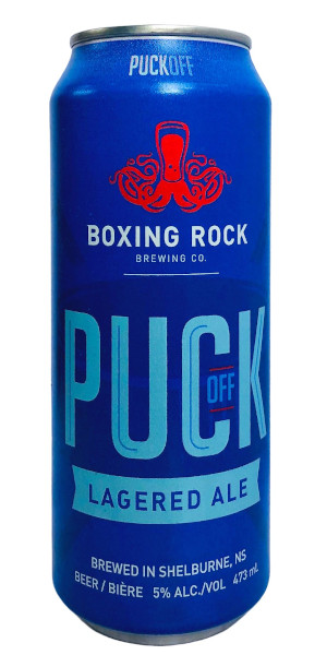 A product image for Boxing Rock Puck Off 473ml
