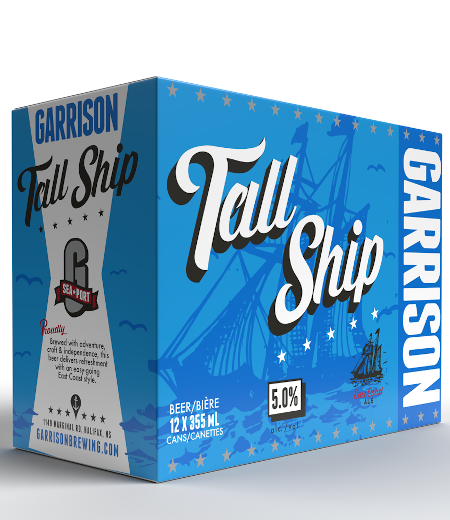 A product image for Garrison Tall Ship Can 12pk 355ml