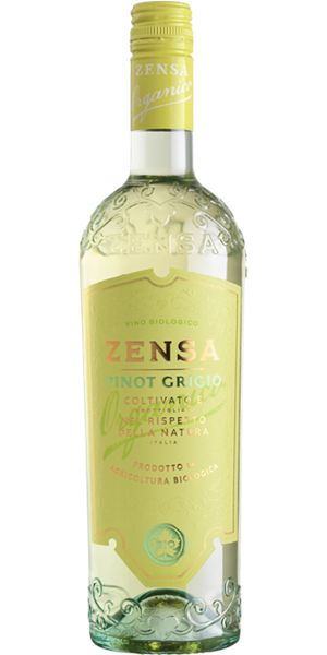 A product image for Zensa Pinot Grigio