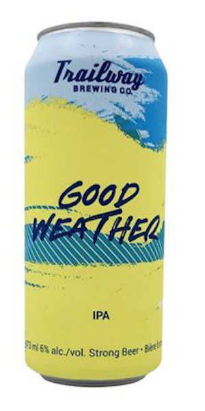 A product image for Trailway Good Weather IPA
