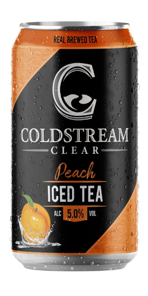 A product image for Coldstream Peach Ice Tea 6pk