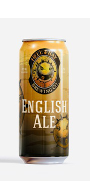 A product image for Hell Bay English Ale 473ml Can