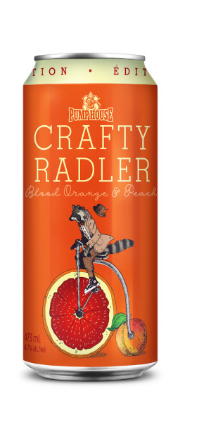 A product image for Pumphouse Crafty Radler Peach and Blood Orange