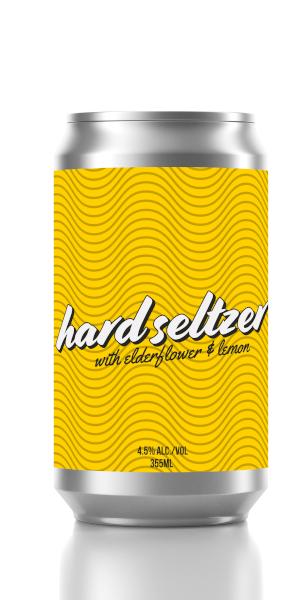 A product image for 2 Crows Elderflower Lemon Seltzer