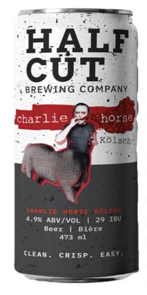 A product image for Half Cut Charlie Horse Kolsch