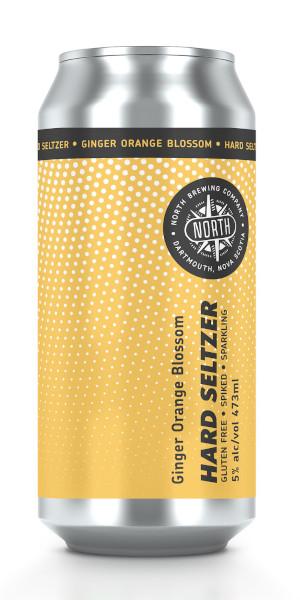 A product image for North Ginger Orange Seltzer