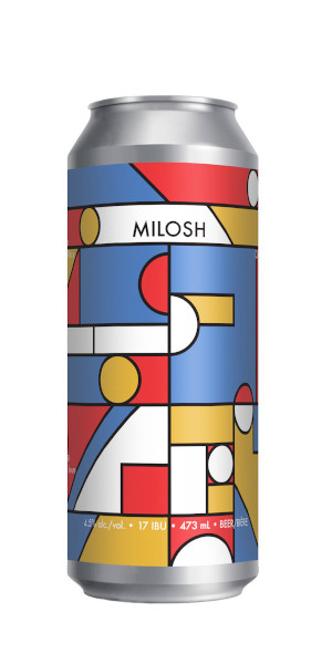 A product image for 2 Crows Milosh Helles