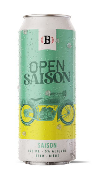 A product image for Bogside Open Saison