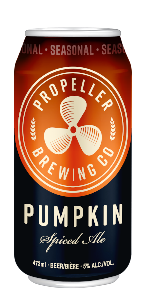 A product image for Propeller Pumpkin Spiced Ale