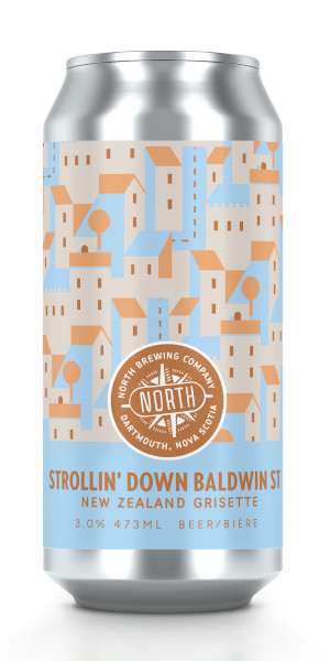 A product image for North Strollin' Down Baldwin St. Grisette