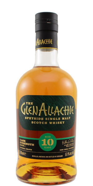 A product image for GlenAllachie 10 YO Cask Streng