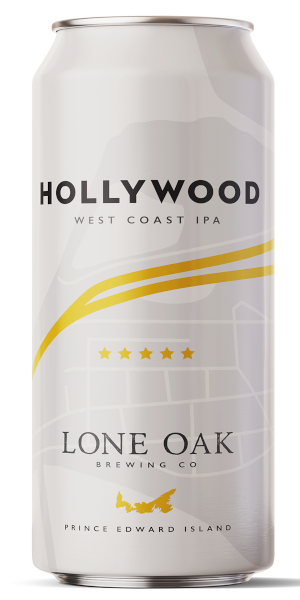 A product image for Lone Oak Hollywood West Coast IPA
