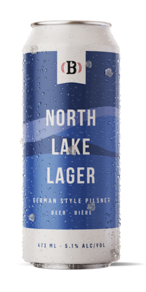 A product image for Bogside North Lake German Pilsner
