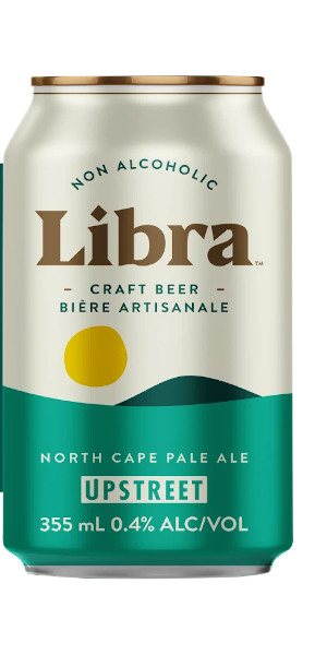 A product image for Upstreet Libra Non-Alc Pale Ale 4pk