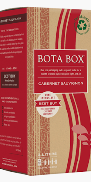 A product image for BotaBox Cabernet Sauvignon
