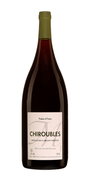 A product image for Guy Breton Chiroubles
